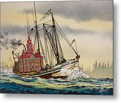 Whatcom Maritime Metal Print by James Williamson