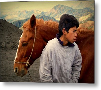 Where The Winds Carry Me Metal Print by Ramon Fernandez