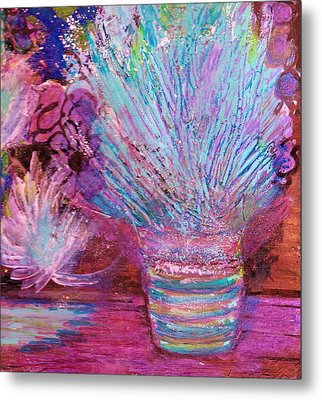 Whimsy Of My Imagination Metal Print by Anne-Elizabeth Whiteway