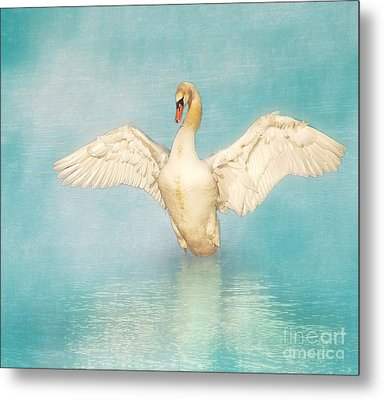 White Angel Metal Print by Hannes Cmarits