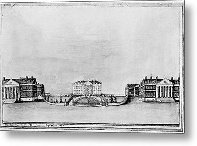 White House, 1821 Metal Print
