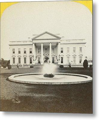 White House, C1882 Metal Print