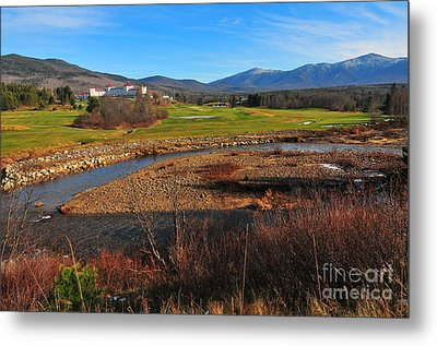 White Mountains Scenic Vista Metal Print by Catherine Reusch Daley