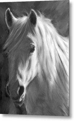 Whitehorse Metal Print