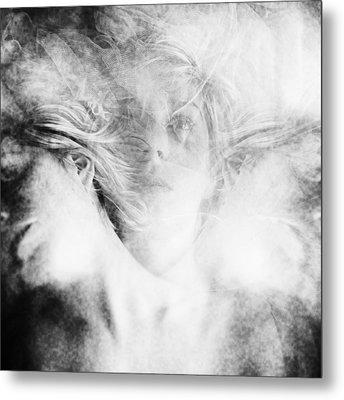 Who Am I Metal Print by Anca Magurean