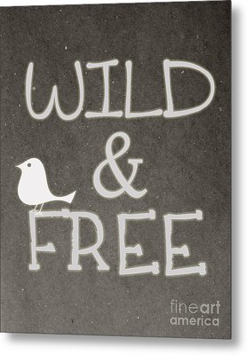 Wild And Free Metal Print by Pati Photography