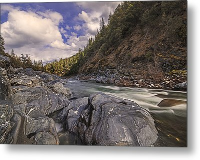 Wild And Scenic Scott River Metal Print by Loree Johnson