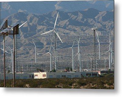 Wind Farm Metal Print