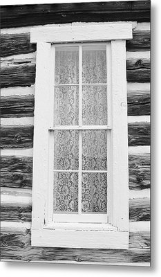 Metal Print featuring the photograph Window To The Old West by Diane Alexander
