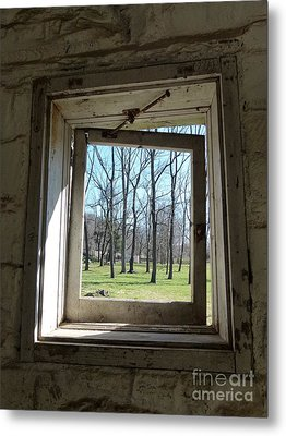 Window To The World Metal Print