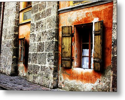Windows Into The Past Metal Print by Alison Tomich