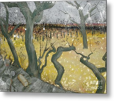 Wine Country Metal Print by Cynthia Parsons