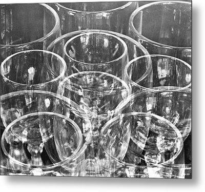 Wine Glasses , Mexico City, 1925 Metal Print by Tina Modotti