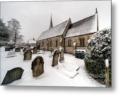 Winter At St Paul Metal Print by Adrian Evans