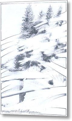 Winter Harvest Metal Print