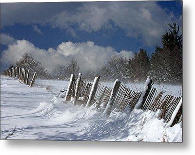 Winter Metal Print by Lepercq Veronique