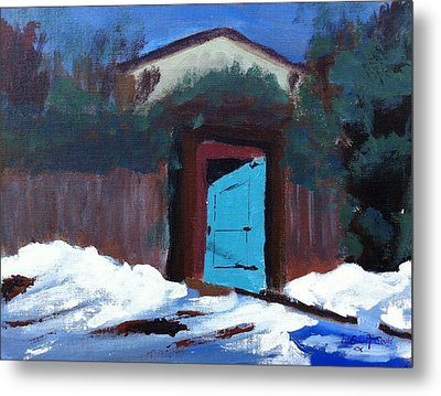 Winter Retreat Metal Print by Roy Gould