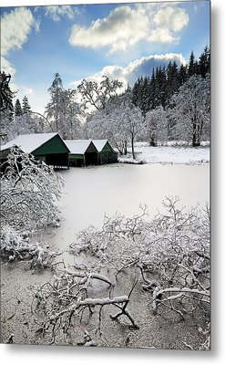 Winter Wonderland Metal Print by Grant Glendinning
