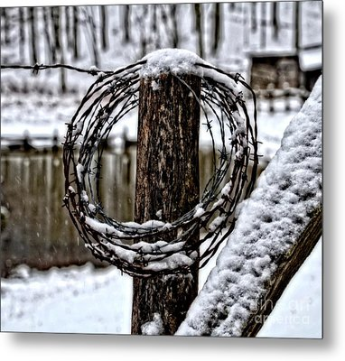Metal Print featuring the photograph Wired by Brenda Bostic