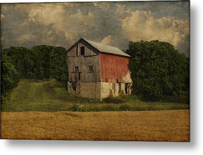 Wisconsin Barn Metal Print by Jack Zulli