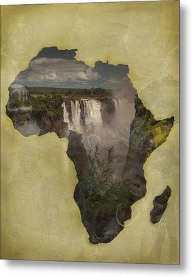 Women Of Africa Metal Print by Nichon Thorstrom