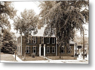 Wright Tavern, Concord, Mass, Taverns Inns Metal Print by Litz Collection