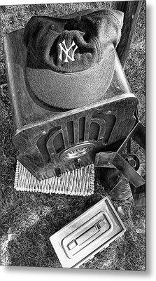 Yankee Cap Metal Print by Ron Regalado