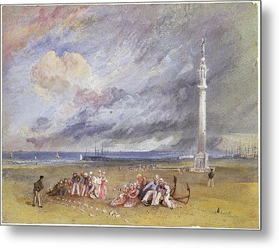Yarmouth Sands Metal Print by Joseph Mallord William Turner