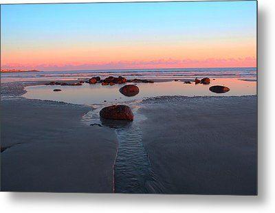 York Beach Metal Print by Andrea Galiffi