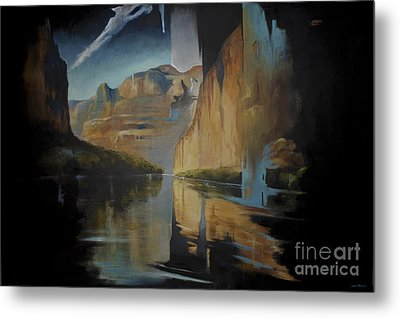 Yosemite Metal Print by Lin Petershagen