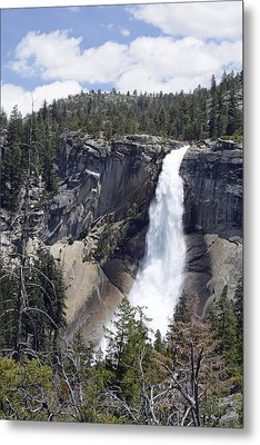 Yosemite's Nevada Fall Metal Print