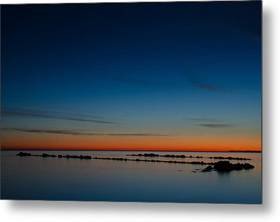 Zen Morning At Ghost Channel Metal Print