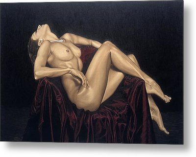 Exquisite Metal Print by Richard Young