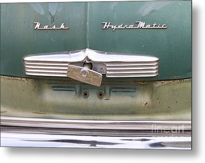 1951 Nash Ambassador Hydramatic Back Metal Print by James BO  Insogna