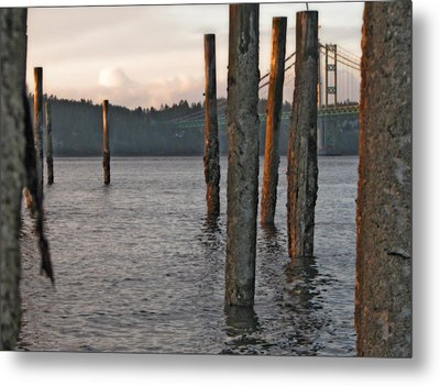 Metal Print featuring the photograph  A Titlow Sunset by Chris Anderson