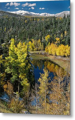 Fall Color On Bobcat Pass Metal Print