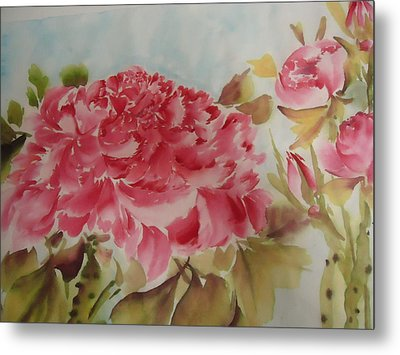 Flower0728-3 Metal Print by Dongling Sun