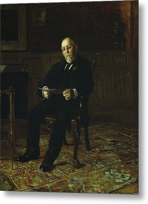 Robert M. Lindsay Metal Print by Thomas Cowperthwait Eakins