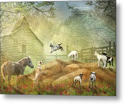 Metal Print by Trudi Simmonds