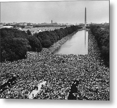 1963 March On Washington. A View Metal Print