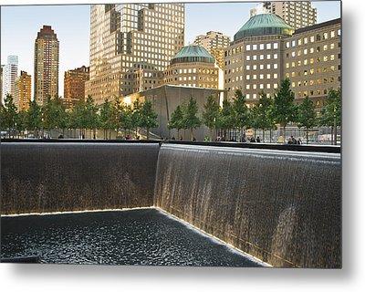 911 Memorial Park Metal Print by Andrew Kazmierski