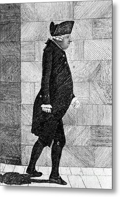 Alexander Monro II, Scottish Anatomist Metal Print by Science Source