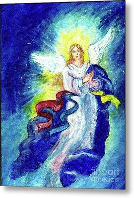 Angel Of Joy Metal Print by Doris Blessington