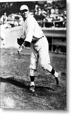 Babe Ruth 1895-1948, American Baseball Metal Print by Everett
