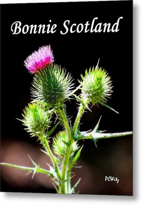 Metal Print featuring the photograph Bonnie Scotland by Patrick Witz