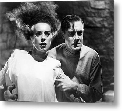Bride Of Frankenstein, 1935 Metal Print by Granger