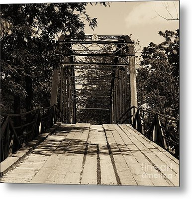 Metal Print featuring the photograph Bridge by Julie Clements