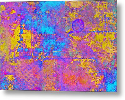 Chemiluminescence Metal Print by Christopher Gaston