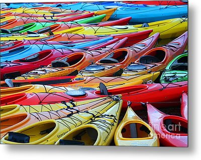 Color My World Metal Print by Adrian LaRoque