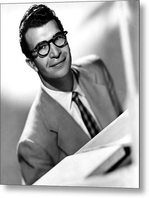 Dave Brubeck, 1950s Metal Print by Everett